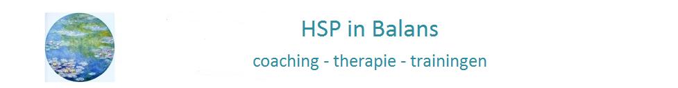 HSPinBalans - hoogsensitieve mensen met stress en burn-out klachten